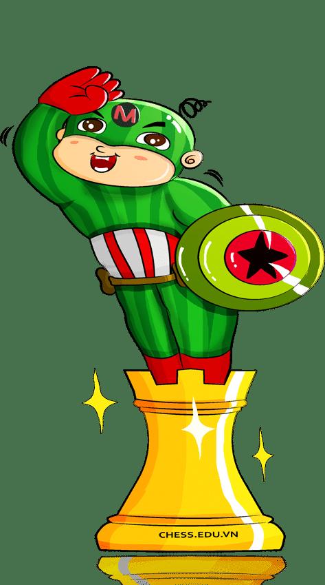 chân dung captain melon | Blog cờ vua